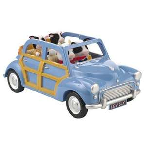 Sylvanian Families Blue Family Car £11 at John Lewis !