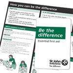 Free First Aid guide from St John Ambulance