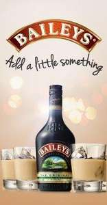 Baileys taste the difference treats for free when you buy a full size bottle at sainsburys