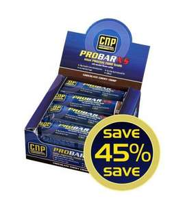 PRO BAR XS HIGH PROTEIN, 45% OFF FOR £17.10 + £3.00 postage @ CNPPROFESSIONAL.CO.UK