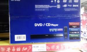 Panasonic dvd/cd player £10 in Tesco