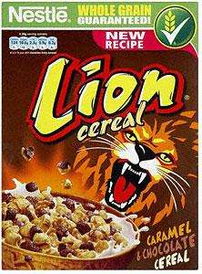 Nestle Lion  Cereal 400G  £0.57 @ Tesco Express