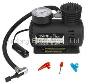 Car Air Compressor with Attachments £3.99 @ Home Bargains