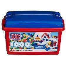 Mega Blocks Micro tub 1000 pieces reduced from £34.99 NOW £14.99 at Argos instore and online!