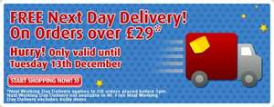 Free Delivery on orders over £29 (NEXT DAY DELIVERY) (Excellent communication & Service) @ Smyths Toys
