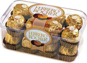 200g Ferrero Rocher (16 pack) £2.50 @ ASDA