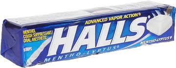 HALLS MENTHO-LYPTUS 5 packs for £1 @Heron Foods