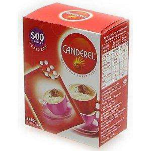 Canderel Tablets Refill Sachets (500) £2.42 @ Tesco - Instore and Online