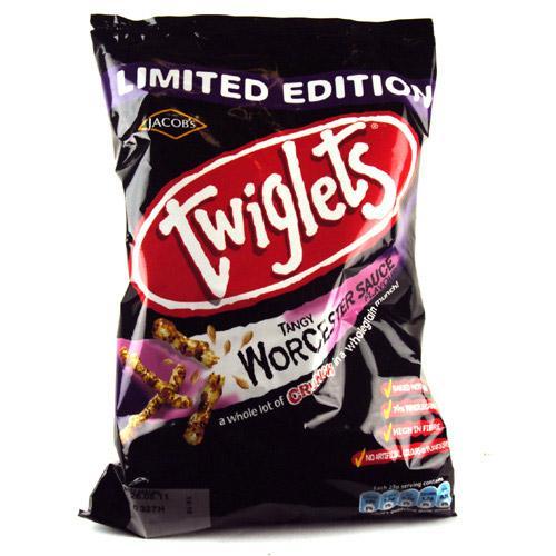 Worcester Sauce Twiglets 150g 49p @ Home Bargains