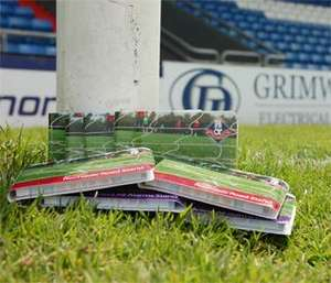Oldham Athletic Half Season Ticket less than £2 a game for Under 16s