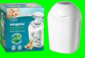 Tommee Tippee Sangenic nappy disposal bin - £9.99