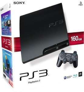 SONY PS3 CONSOLE CECH-3003A 160GB CHARCOAL BLACK (refurb) £164.95 @tesco/ebay outlet