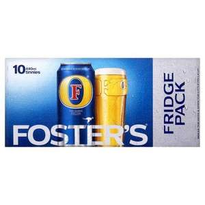 Fosters 10 x 440ml £6.50 @ co-op