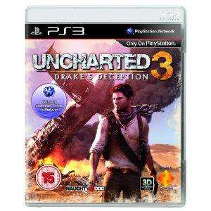 Uncharted 3: Drake's Deception PS3 £24 @ Amazon