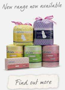 Free samples Lil-Lets - choice of 3 packs
