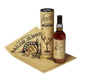 Sailor Jerry Rum Limited Edition Bottle was £24.27 now £15.00 @ ASDA INSTORE AND ONLINE