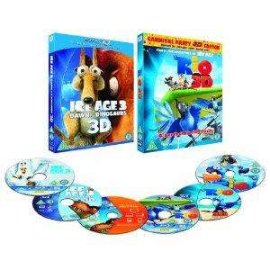 Rio 3d and ice age 3 3d super plays  (Blu-ray 3D + Blu-ray + DVD + Digital Copy) £19.97 at Amazon