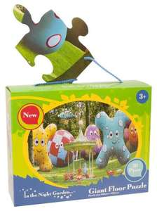 In The Night Garden giant floor puzzle £4.27 delivered to store The Entertainer
