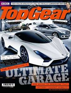 12 issues of Top Gear magazine for £25.65 + Free Wowee One Portable Speaker @ buysubscriptions.com