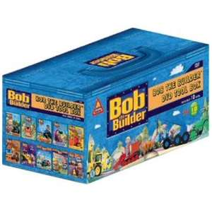 Bob the Builder - 10 dvds box set for £12 - play.com - today only