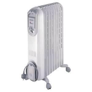 DeLonghi VV550920 Oil Filled Radiator £37.00 @ Tesco Direct