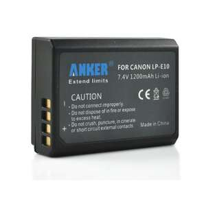 Anker batteries for canon rebel T3 1100d, only £7.49 @ Amazon !
