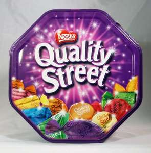 1KG Nestle Quality Street / 855g Mars Celebrations / 850g Cadbury Roses tins 2 for £8 @ Sainsbury's instore