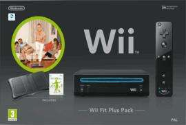 Black Wii Console with ***Balance Board*** and Wii Fit Plus £119.99 Delivered @ Game