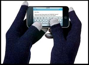 Touchscreen gloves, different colours, One Pound! @ Poundland :)