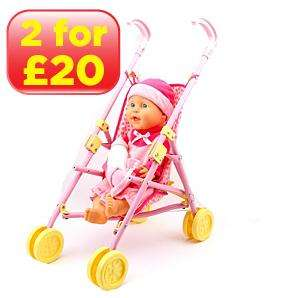 Doll Gift Set with Stroller Was £15 now just £5 at Asda Instore Only!
