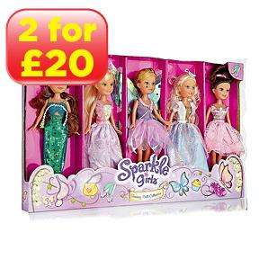 Sparkle Girlz Five Pack Doll Set was £14 now £10 @ Asda Instore only!