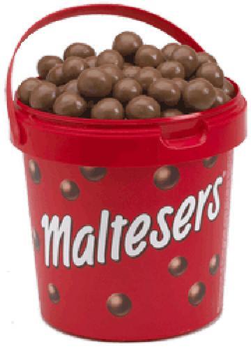Maltesers Bucket 440g 3 quid INSTORE @ tesco