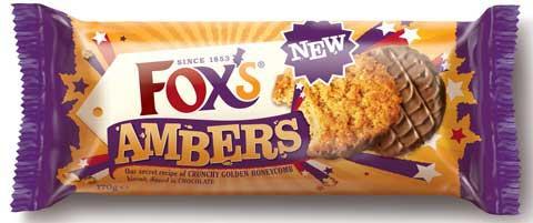 Fox's Amber biscuits - HALF PRICE - 60p per 170g pack @ Sainsburys