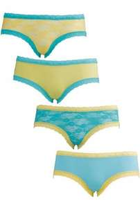 Sorbet Boutique Pack of Four Brazilian Briefs £6.99 + free delivery at Littlewoods-Clearance on ebay