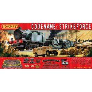 Hornby Electric Train Set - Codename: Strike Force Was £94.99, now £49.99 @Amazon