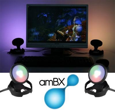 Cyborg amBX Gaming Lights for PC £71.99 @ GameShark