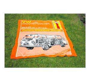 Haynes fleece blanket VW TRANSPORTER OR LAND ROVER £9.99 Each dellivered from the gadget&gift store