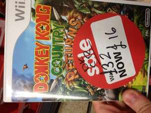 ASDA Games Sale... Donkey Kong Country Returns (Wii) £16, Goldeneye (Wii) £7!! @ Asda (Instore)