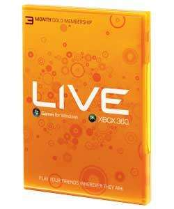 Microsoft Live Starter Pack (3 Months Xbox Gold, 800 MS Points and the new Media Remote - £19.22 at Argos