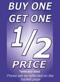Buy One Get One ½ Price on many products @ Select Fashion
