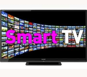 """SHARP LC60LE636E 60"""" Full HD LED TV, Freeview HD Tuner, 100Hz & Smart TV Features + 5 Years Warranty- £999.00 +5% Quidco@ Sharpdirect"""