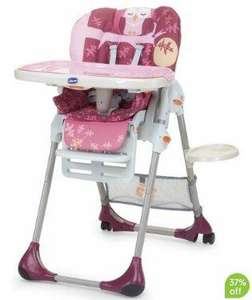 Chicco Polly Highchair - Mrs Owl @ mothercare £74.99