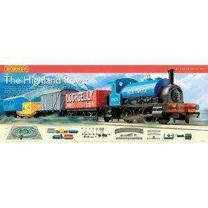 Hornby 'The Highland Rover'  train set brand new 43 quid at Argos eBay outlet