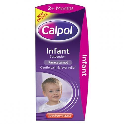 Calpol infant suspension - 100ml - Half price £1.52 @ CO-OP Pharmacy
