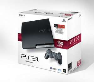 Playstation 3 160gb with 1 game ( batman arkham city, saints row the third, fifa 12, skyrim or battlefied 3 ) for  £169.99! at HMV in store