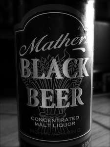 Morrisons - x09 Mathers Black Beer 68cl - 8.5% --  £2.10 (Shelf Price)  (Christmas Drink! )