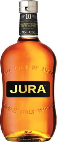 Isle of Jura Single Malt 10Yr Old £18:10 - Keystore SCOTLAND ONLY