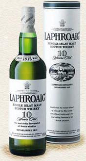 Laphroaig 10YO single malt whisky £21.80 @ scotmid