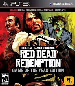 Red Dead Redemption + Undead Nightmare Bundle PSN £15.99 for PS+ subscribers