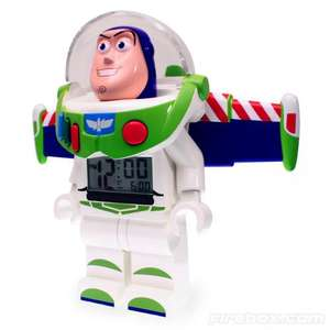 Buzz Lightyear LEGO Minifigure Alarm Clock - £17.49 @ Firebox